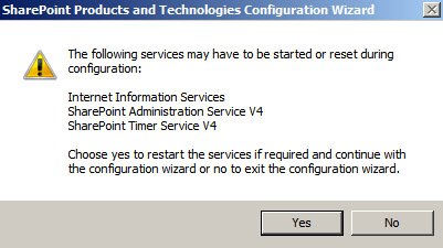 MS Project 2010, MS Project Server 2010: Message box